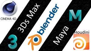 3D software Logos