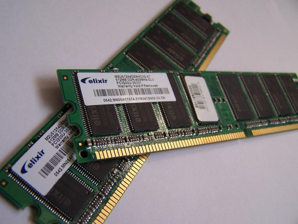 technology semiconductor ram memory sticks