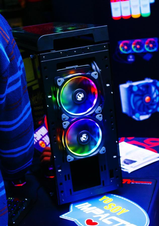 computer Case exhaust Fans back