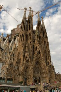 sagrada familia main view