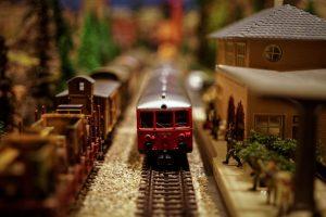 train set maquette