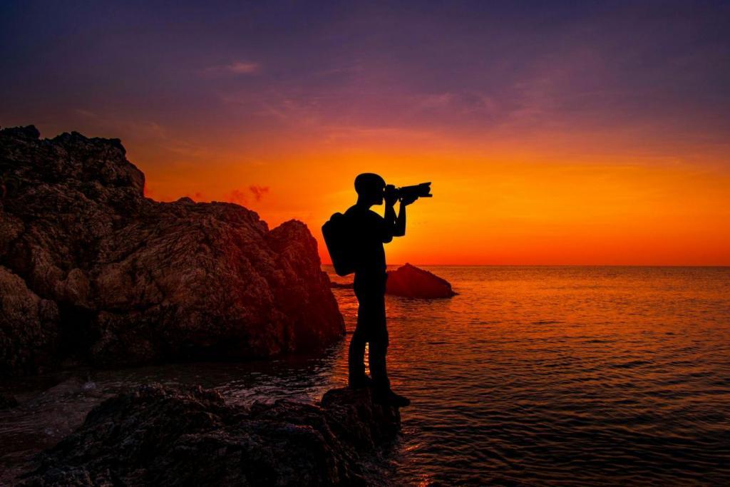 landscape photography hobby camera sunset